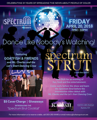 The Spectrum Strut with Goatfish and Friends