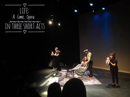"NEAL LEARNER'S ""LIFE: A COMIC OPERA IN THREE SHORT ACTS"" WILL SURPRISE YOU AT D.C.'S FRINGE FESTIVAL"