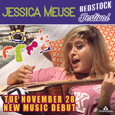 Jessica Meuse Debuts New Music At MyMusicRX Bedstock Festival